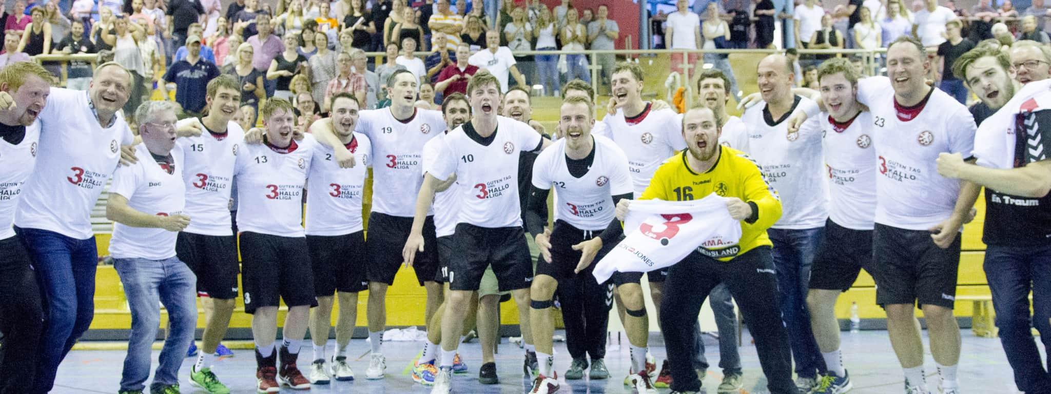 Die 1. Herren ist Meister der Oberliga Niedersachsen und steigt somit in die 3. Liga auf