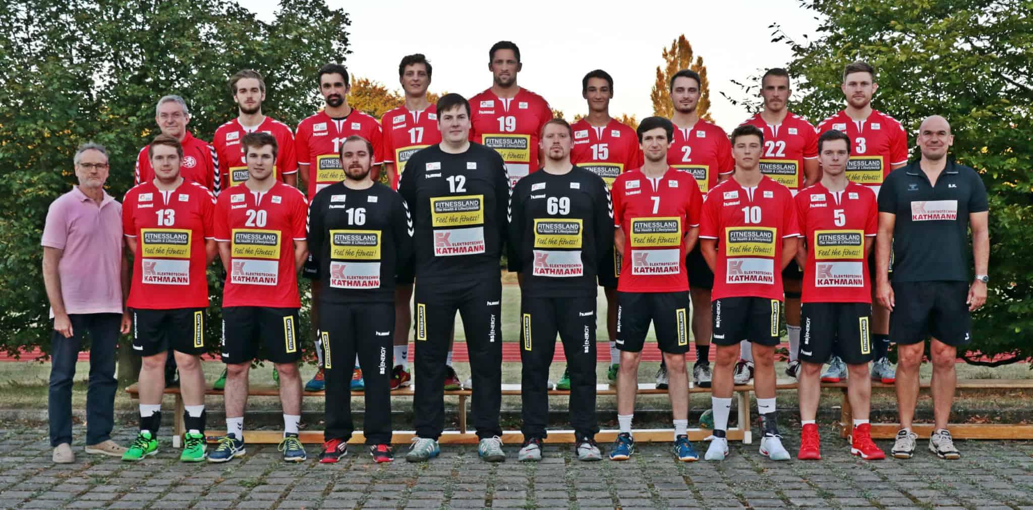 Aktuelles Manschaftsfoto der 1. Herren Saison 16/17 3.Liga