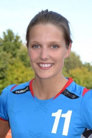 Helen Fiedler wurde mit 9 Treffern beste Werferin der Braunschweigerinnen