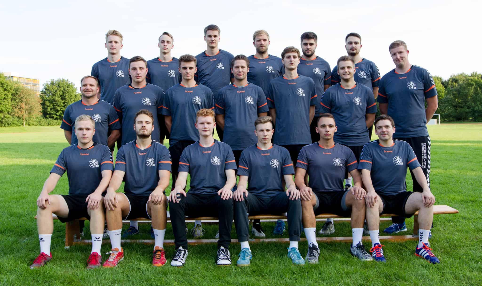 Aktuelles Manschaftsfoto der 2. Herren Saison 17/18 Verbandsliga