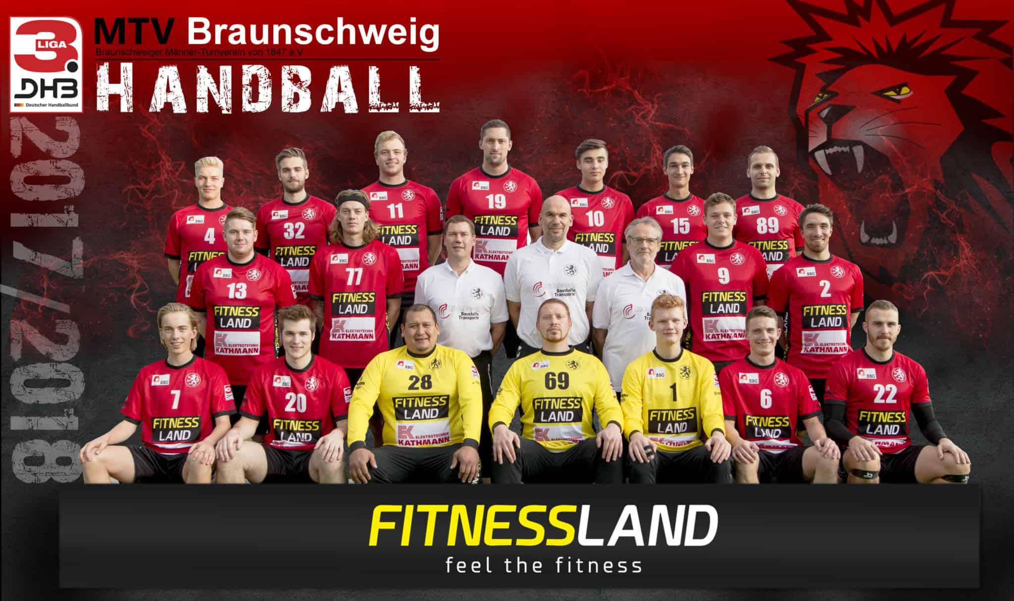 Aktuelles Manschaftsfoto der 1. Herren Saison 17/18 3.Liga