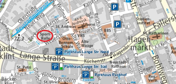 © Stadt Braunschweig und OpenStreetMap-Mitwirkende